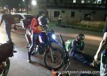 Óleo na pista causa acidentes com motociclistas em rua de Manaus - Portal do Holanda