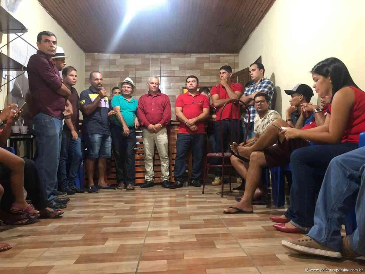 Vice-prefeito de Borborema rompe com a prefeita Gilene Cândido e lança sua pré candidatura à prefeito do munic - Polêmica Paraíba