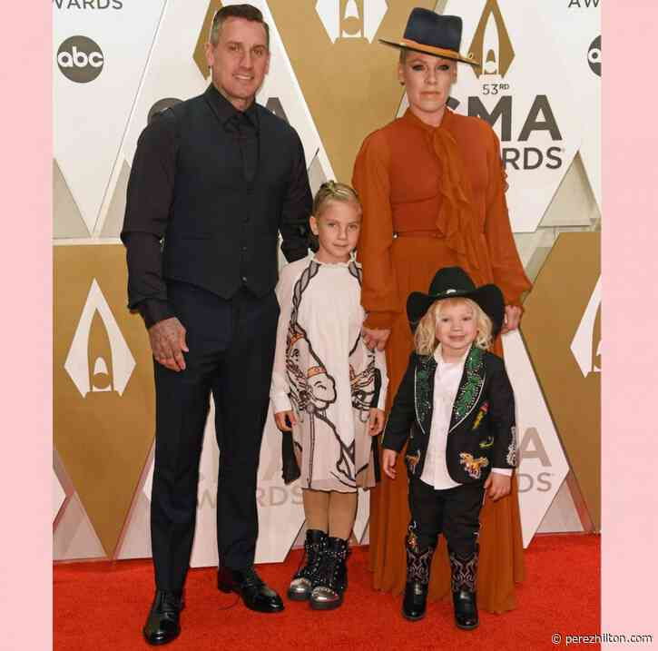 Pink Gets Choked Up Detailing Her Coronavirus Battle With Son Jameson: 'This Is The Scariest Thing'