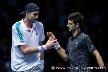 """You Actually Don't Think About his Service"" – John Isner on Novak Djokovic's Serve - Essentially Sports"
