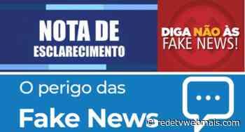 Politicagem contaminada em Guapimirim. Fake News é o vírus da vez - Rede Tv Mais