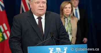 Coronavirus: Premier Doug Ford urges city residents to stay out of cottage country on Easter weekend