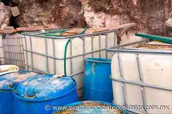 Aseguran hidrocarburo en Atitalaquia - Independiente de Hidalgo