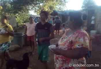 Inician entrega de alimentos para unas 1.000 familias en Puerto Quijarro - EL DEBER