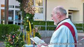 Haigerloch: Segnung der Palmen unter Ausschluss der Gläubigen - Haigerloch - Schwarzwälder Bote