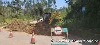 RJ-148: estrada que liga Nova Friburgo a Sumidouro continua interditada - Serra News