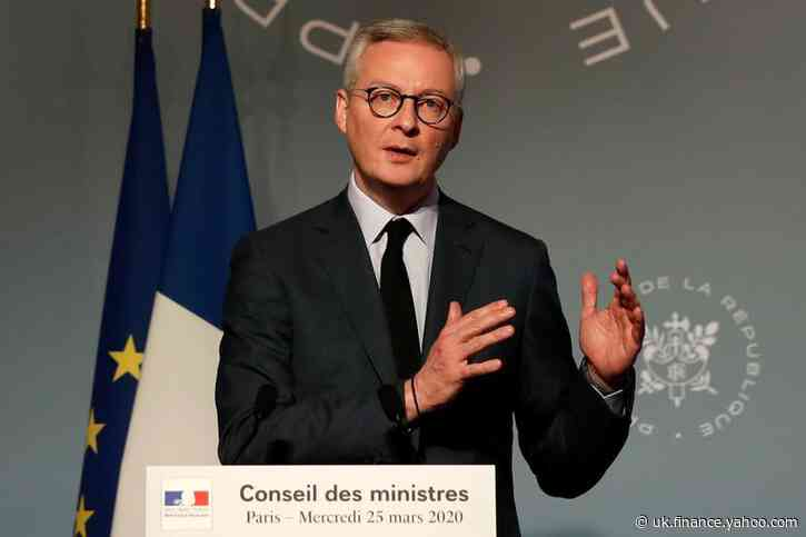 EU's one trillion euro coronavirus plan most important in its history - France's Le Maire