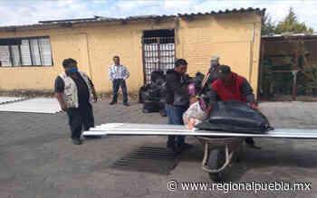 Apoya Segob a familias afectadas por granizada en Acajete - regionalpuebla.mx