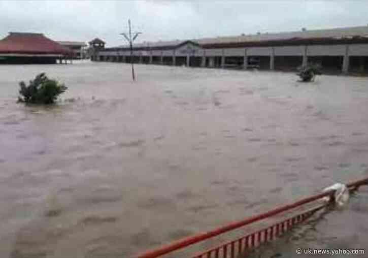 Cyclone Harold Submerges Market in Ba, Fiji