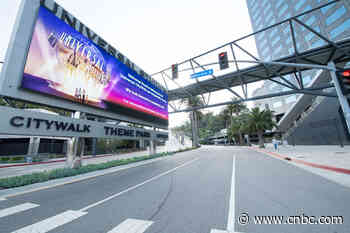 Coronavirus live updates: Universal Studios extends park closures; US cases top 452,000 - CNBC