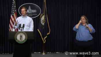 Beshear confirms 134 new coronavirus cases, 6 more deaths - WAVE 3