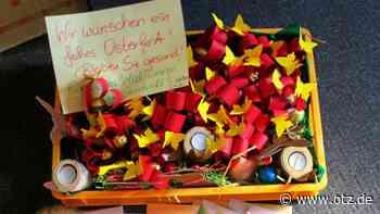 Kiste voller roter Herzen für Senioren in Dornburg-Camburg - Ostthüringer Zeitung