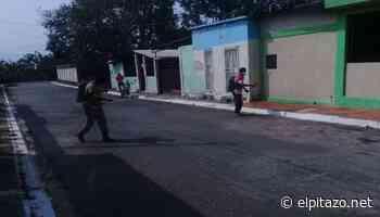 Residentes de Bruzual en Yaracuy realizan plan de desinfección por COVID-19 - El Pitazo