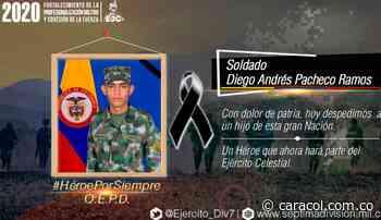 Investigan muerte de soldado en batallón de Carepa - Caracol Radio