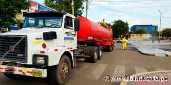 Desinfectan calles de la provincia de Ascope para evitar propagación del coronavirus - La Industria.pe
