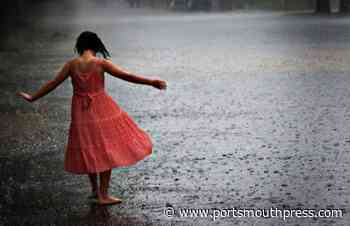 Current mood: feeling like a little dance in the rain. I missed my walk this mor... - Portsmouth Press