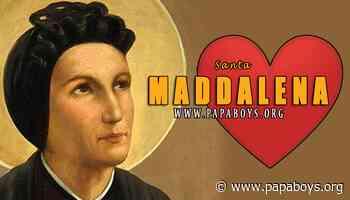 Il Santo di oggi 10 Aprile 2020 Santa Maddalena di Canossa, Vergine e Fondatrice - Papaboys 3.0
