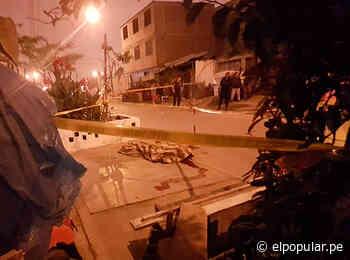 Marcas asesinan a hombre que defendió a su padre de robo en Villa El Salvador [VIDEO] - El Popular