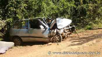 Mulher fica ferida em acidente no interior de Pinhalzinho - Portal DI Online
