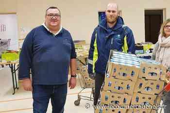 Pavilly. 700 yaourts pour la Banque alimentaire Le relais - Le Courrier Cauchois