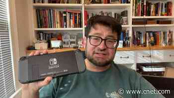 Yes, you can fix your cracked Nintendo Switch back video     - CNET