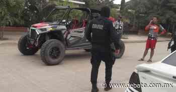 En San Miguel Zapotitlán aseguran un racer y 2 personas en cuarentena - DEBATE