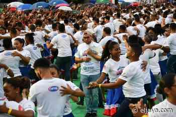 Dominicanos establecen récord Guinness como bailadores de Merengue - El Jaya