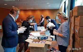 Yvelines. La Ville de Saint-Germain-en-Laye distribue masques, blouses, gels aux professions de santé et commerçants - actu.fr