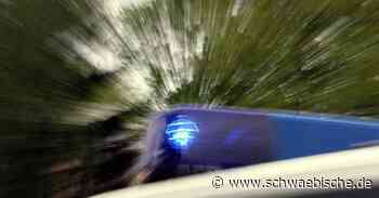 Unfall mit Leichtverletzter in Hergatz - Schwäbische