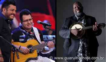 Péricles e Bruno e Marrone farão lives nesta quinta-feira, 9 - Guarulhos Hoje