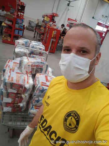 Solidariedade: Vôlei Guarulhos doa 510 Kg de alimentos para famílias do Cabuçu - Guarulhos Hoje