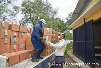 Cementos Cibao dona alimentos a más de 800 familias en Baitoa, Puñal y G - Dominican Goverment Press Room