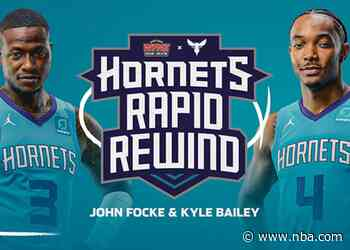"""Hornets and Flagship Radio Station WFNZ Produce """"Hornets Rapid Rewind"""" Show"""