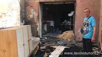 Fresnes-sur-Escaut: déjà victime de la tempête, leur maison ravagée par un incendie - La Voix du Nord