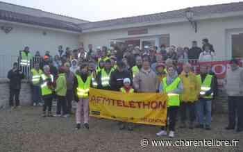 Salles d'Angles, Angeac-Champagne et Gensac- la- Pallue: trois communes unies pour le téléthon - Charente Libre