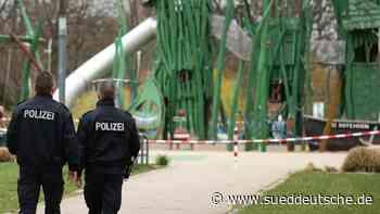 Polizei kontrolliert die Einhaltung der Corona-Verordnung - Süddeutsche Zeitung