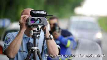 Mios : un automobiliste flashé à 175 km/h sur une route limitée à 70 km/h - France 3 Régions