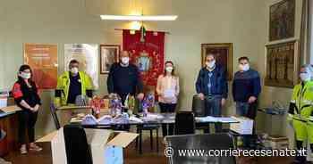 Coronavirus, a Longiano si distribuiscono uova pasquali e mascherine - Corriere Cesenate
