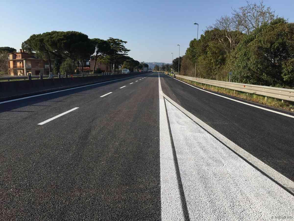 E45: riaperto lo svincolo di Torgiano, da martedì chiuso quello da Balanzano - TuttOggi