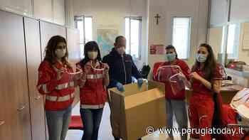 Coronavirus, donate alla Croce rossa di Perugia e Deruta-Torgiano quaranta visiere di protezione individuale - PerugiaToday