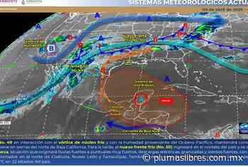 Anuncian Surada para este viernes y sábado con presencia principalmente en Perote, Orizaba y región Los Tuxtlas - plumas libres