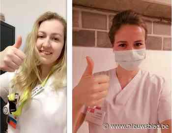Studenten verpleegkunde gaan aan de slag in ziekenhuizen en woonzorgcentra