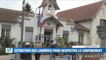 Veauche éteint ses lumières pour faire respecter le confinement - Reportage TL7 - TL7, Télévision loire 7 - tl7.fr