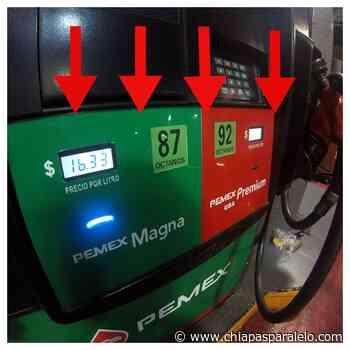 Cacahoatán y Jiquipilas, municipios con la gasolina más barata; Palenque y El Porvenir la más cara - Chiapasparalelo