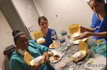 A Sartrouville, des jeunes se mobilisent pour les soignants - Reflets.info