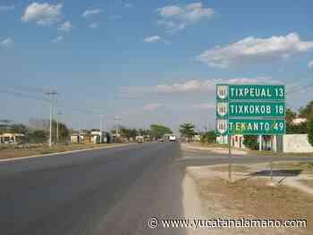 Fallece mujer en un vehículo que la llevaba de Tixkokob a Mérida - Yucatán a la mano