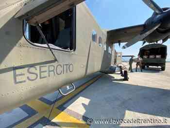 Arrivati a Mattarello nuovi dpi grazie al supporto dell'esercito - la VOCE del TRENTINO