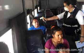 Sahuayo extrema medidas preventivas contra Covid - El Sol de Zamora