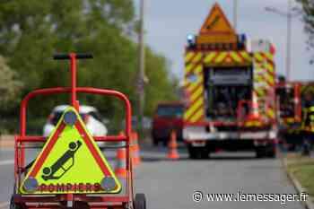 Bons-en-Chablais : deux blessés graves dans un accident de la route - Le Messager