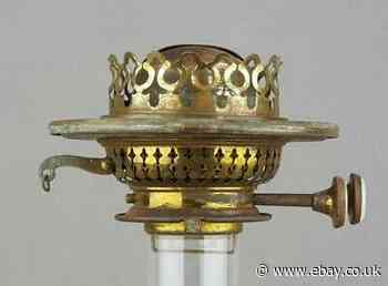 Victorian Evered S Nº3 Duplex Kerosene Paraffin Oil Lamp Burner Lug Fitting Antiques News Newslocker